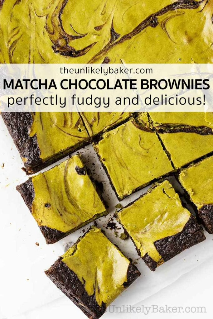 Easy Delicious Matcha Brownies Recipe
