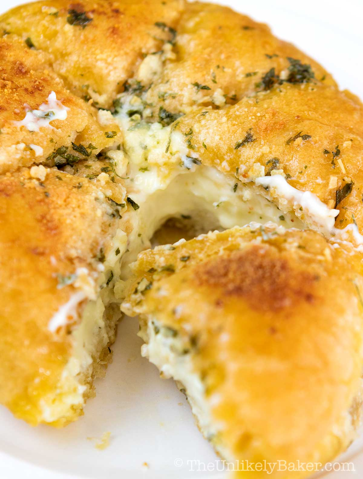 Korean Cream Cheese Garlic Bread - Easy and Simple Recipe
