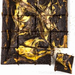 Mascarpone Swirl Brownies