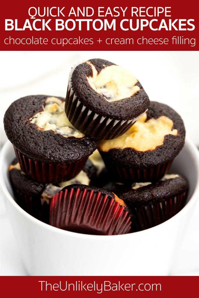 How to Make Black Bottom Cupcakes