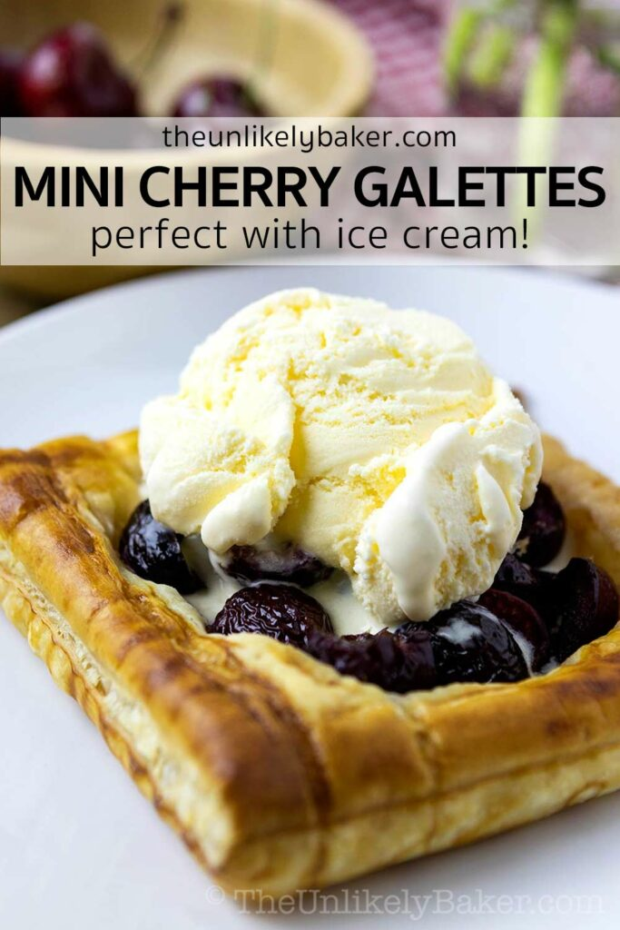 How to Make Cherry Galettes