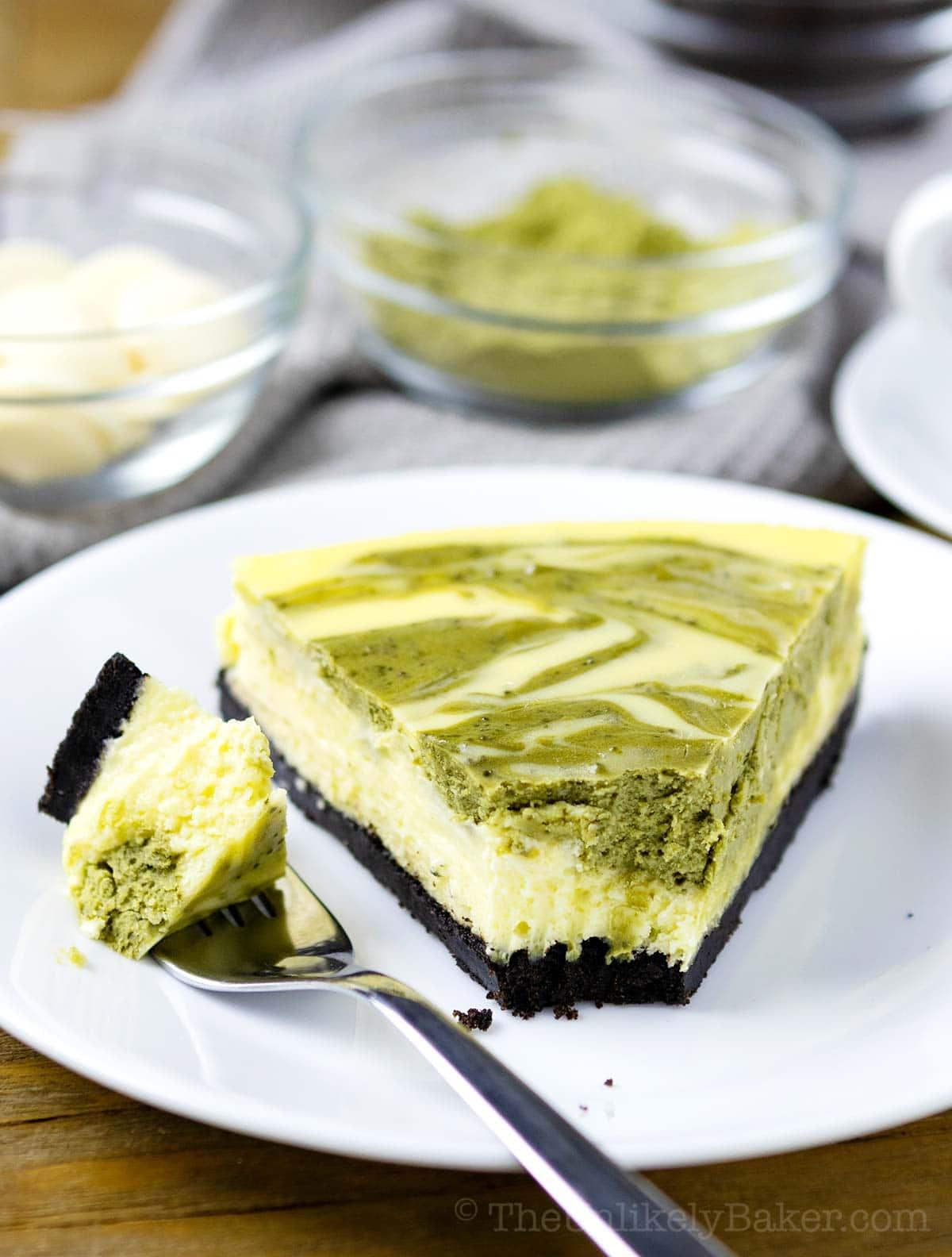 Matcha Cheesecake Recipe