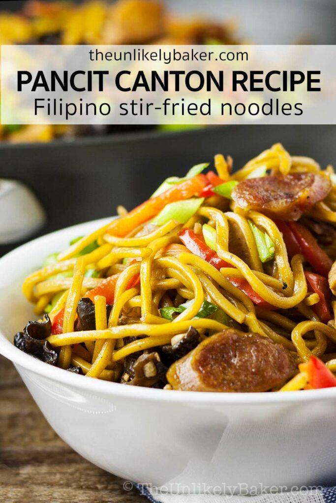 Filipino Pancit Canton Recipe