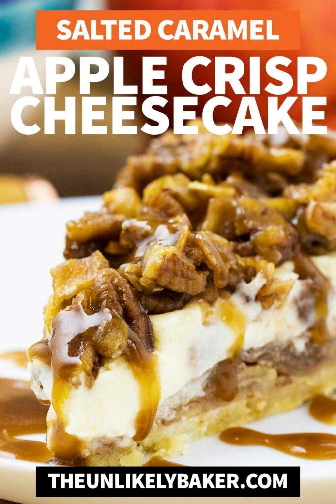 Easy Apple Crisp Cheesecake Recipe