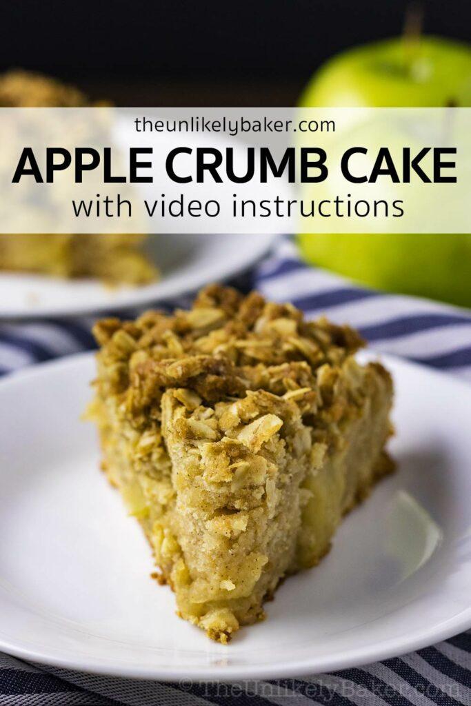 Apple Crumble Coffee Cake Recipe