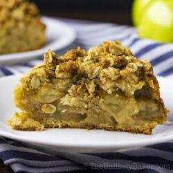 Apple Crumble Coffee Cake (Video Recipe)
