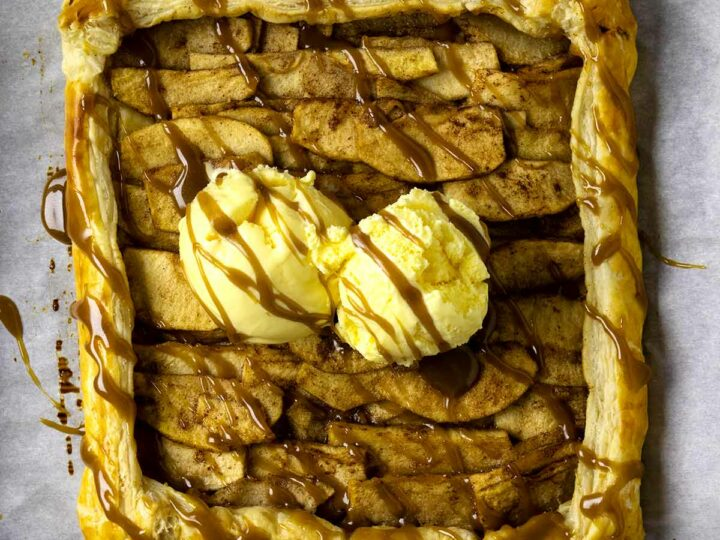 Apple Galette Puff Pastry Recipe