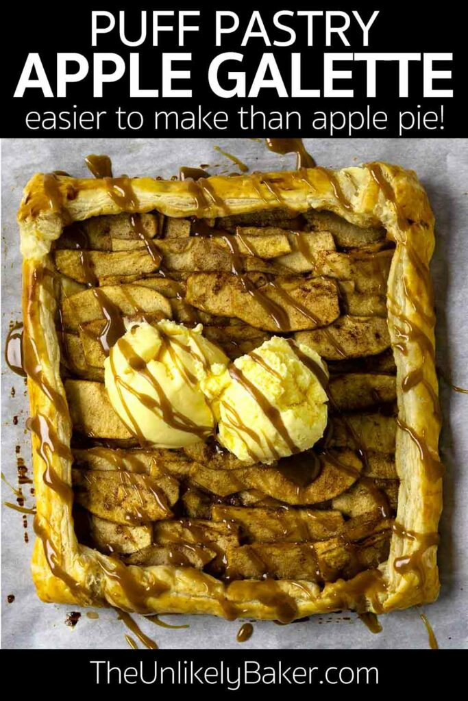 Easy Apple Galette Recipe with Puff Pastry