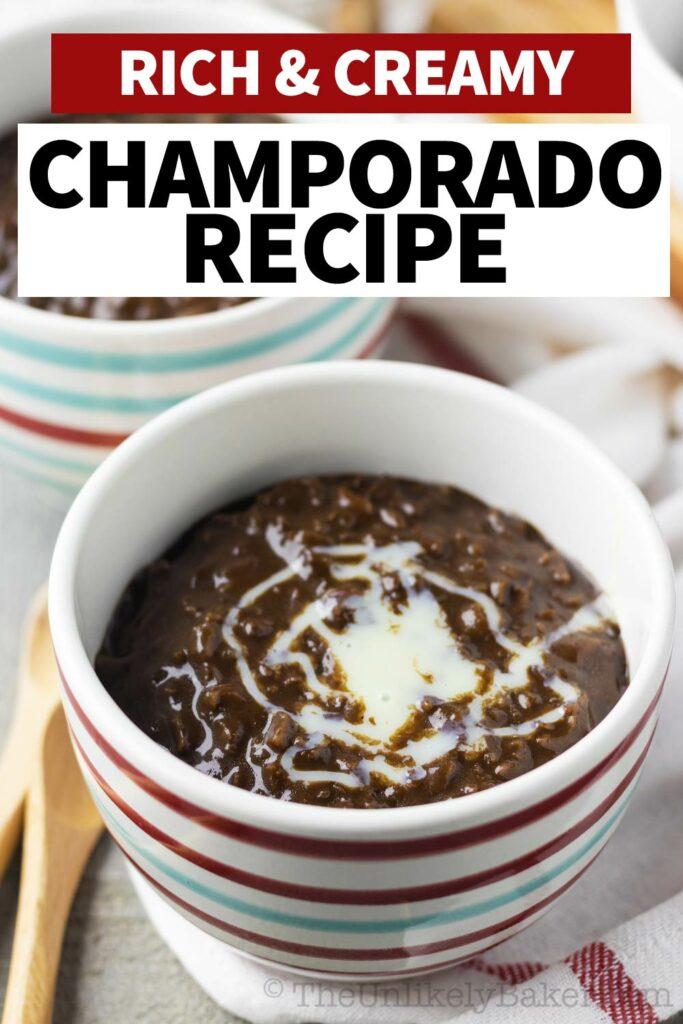 Rich Creamy Champorado Recipe