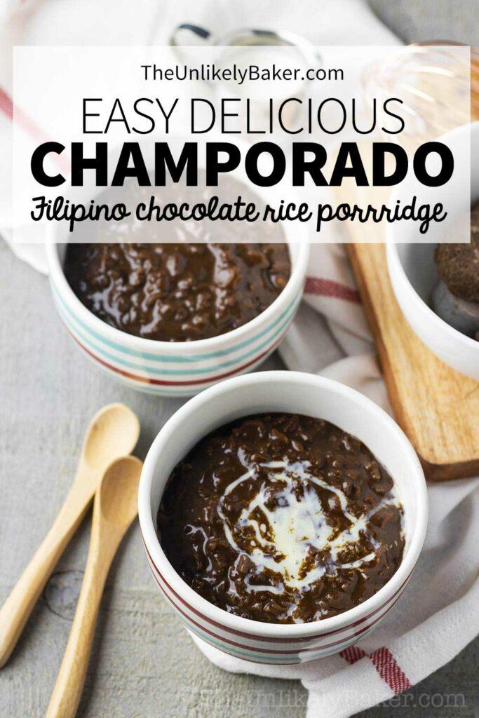 Easy Champorado Recipe
