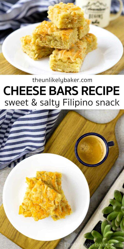 Cheese Bars Filipino Recipe